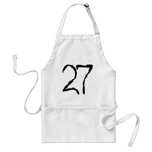 Number27 Delantal