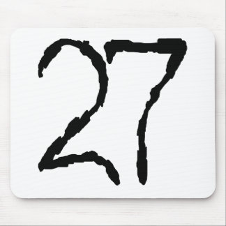 Number27 Mouse Pad