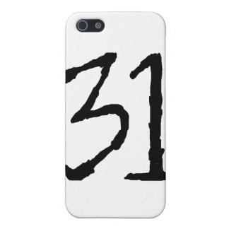 Number31 iPhone 5 Protectores