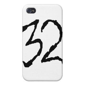 Number32 iPhone 4/4S Funda