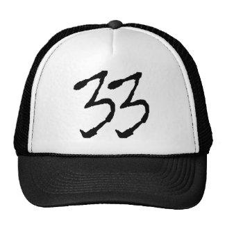 Number33 Trucker Hat
