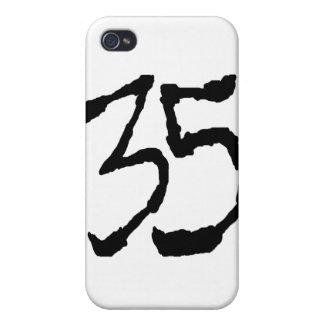 Number35 iPhone 4 Cárcasa