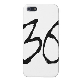 Number36 iPhone 5 Protector