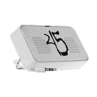 Number45 iPod Altavoz
