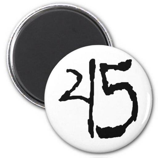 Number45 Magnets