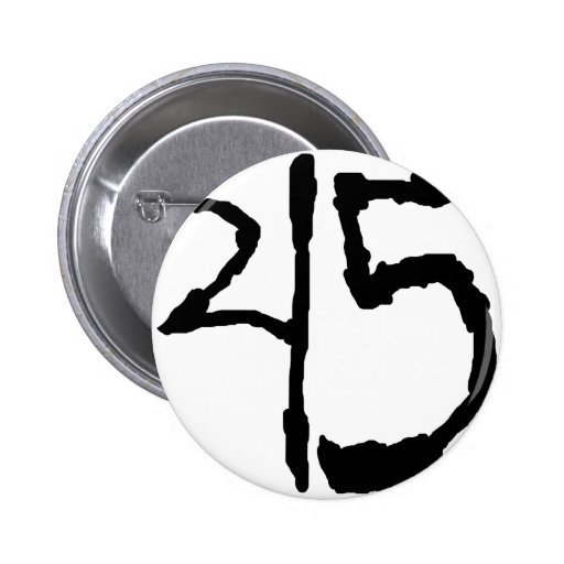 Number45 Pins