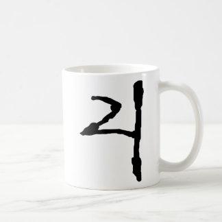 Number4 Taza Básica Blanca