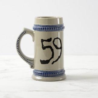 Number59 18 Oz Beer Stein