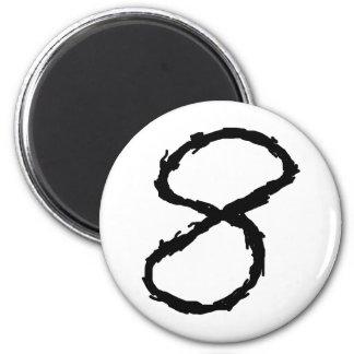 Number8 Fridge Magnet