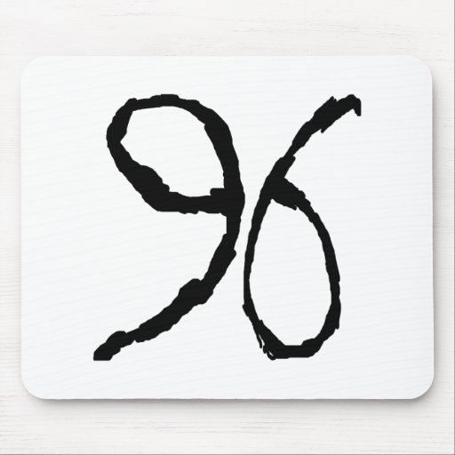 Number96 Mouse Pad