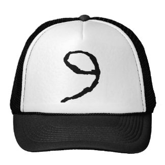 Number9 Mesh Hats