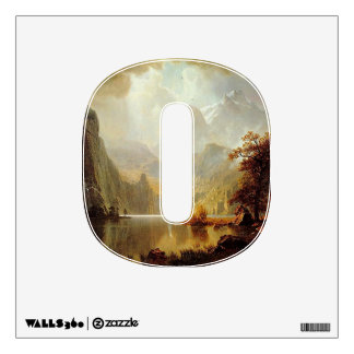 Number 0 Wall Decal - Numeral Zero thenumeral0