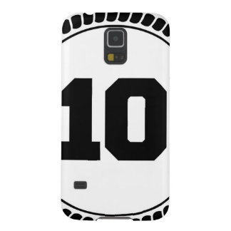 Number 10 circle case for galaxy s5