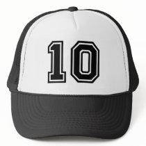 Number 10 Classic Trucker Hat