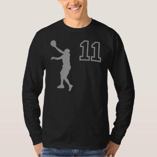 Number 11 Basketball Player T-Shirt