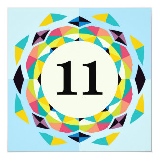 Number 11 Invitations amp Announcements Zazzle