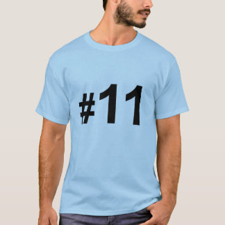 Number 11 T-Shirt
