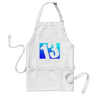 Number 13 aprons