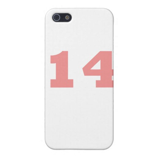 Number 14! iPhone 5 case