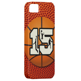 Number 15 Basketball iPhone SE/5/5s Case