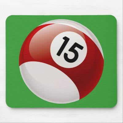 Lets Count to 1001 Number_15_billards_ball_mousepad-p144996193009107320trak_400
