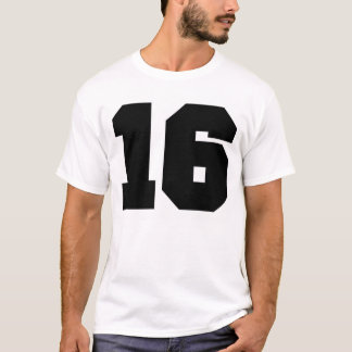 Number 16 Sport T-Shirt