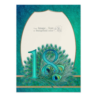 Number  17 / age / years / 17th birthday template card
