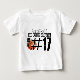Number 17 Basketball designs Baby T-Shirt