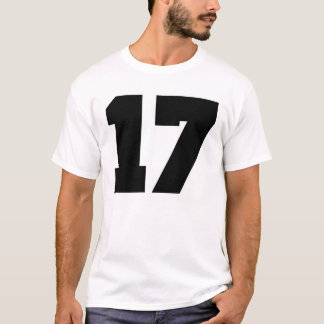 Number 17 Sport T-Shirt
