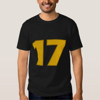 Number 17 T-Shirt