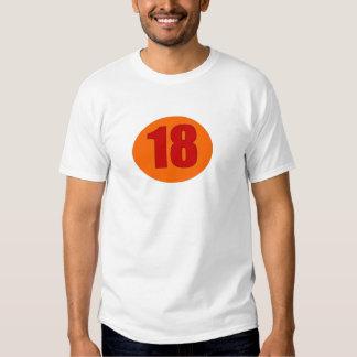 Number 18 shirt
