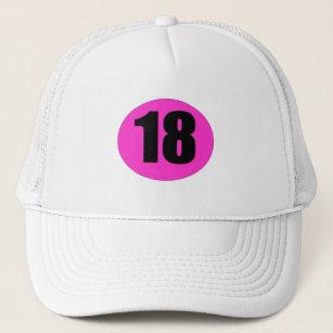 Number 18 Trucker Hat
