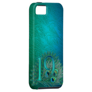 Number 19 / age / years / 19th birthday template iPhone SE/5/5s case