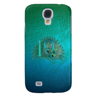 Number 19 / age / years / 19th birthday template samsung galaxy s4 case