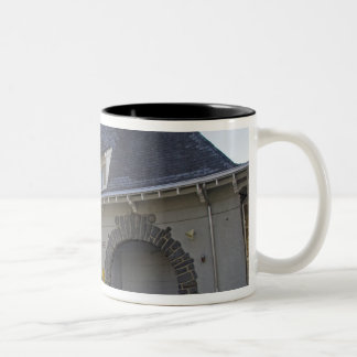 Number 19 Engine House in Washington, D.C. Two-Tone Coffee Mug