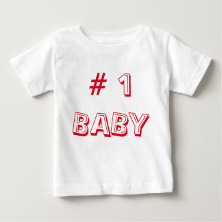 Number 1 baby top clothing