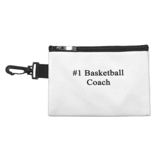 Number 1 Basketball Coach Accessory Bags