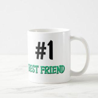 Number 1 Best Friend Classic White Coffee Mug