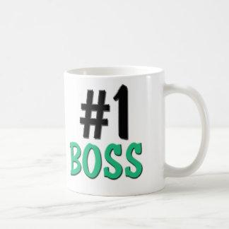 Number 1 Boss Coffee Mug