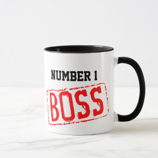 Number 1 Boss Coffee Mug | Motivational