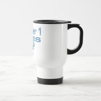 Number 1 Boss in Blue Coffee Mug