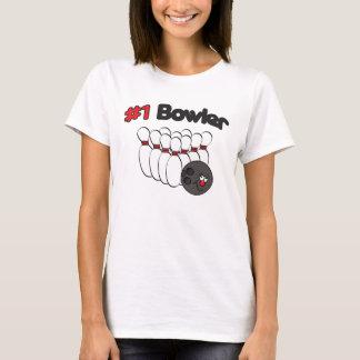 Number 1 Bowler | Humor T-Shirt