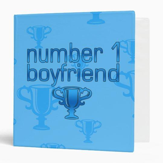 Number 1 Boyfriend 3 Ring Binder