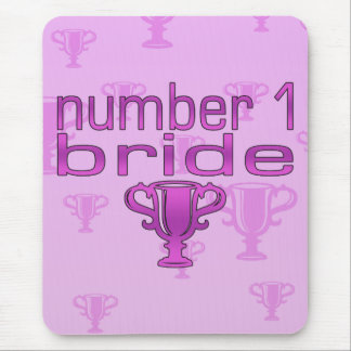 Number 1 Bride Mouse Pad