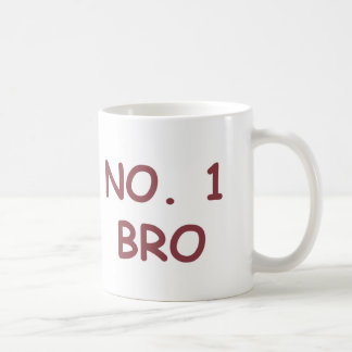 NUMBER 1 BRO COFFEE MUG