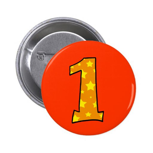 Number 1 buttons