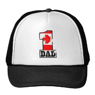 Number 1 Canadian Dad Trucker Hat