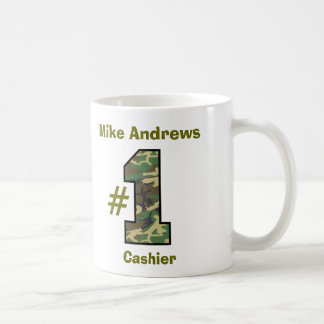 Number 1 Cashier or Any Specialty V2 Coffee Mug