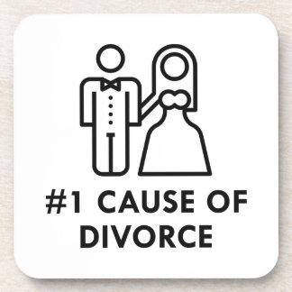 Number 1 Cause Of Divorce Coaster