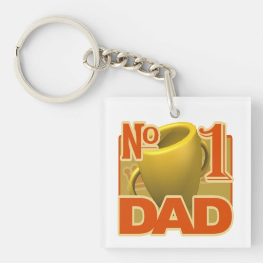 Number 1 Dad 1.png Acrylic Keychains